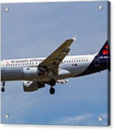 Brussels Airlines Airbus A319 Acrylic Print