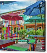Bubble Room Restaurant - Captiva Island, Florida Acrylic Print