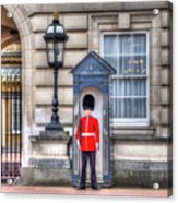 Buckingham Palace Queens Guard Acrylic Print