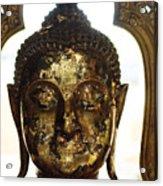 Buddha Sculpture Acrylic Print