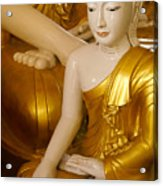 Buddhas In Burma Acrylic Print
