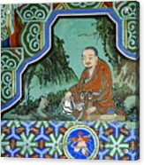 Buddhist Temple Art Acrylic Print