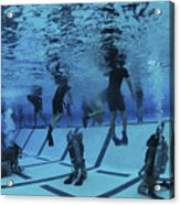 Buds Students Participate In Underwater Acrylic Print