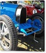 Bugatti Racer Acrylic Print