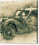 Bugatti Type 57 - Atlantic 3 - 1934 - Automotive Art - Car Posters Acrylic Print