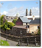 Buildings In A Town, Mullingar, County Acrylic Print