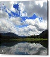 Bull Lake Reflection Acrylic Print
