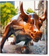 Bullish - Da Acrylic Print