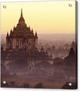 Burma Landscape Acrylic Print