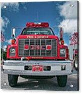 Burnington Iolta Fire Rescue - Tanker Engine 1550, North Carolina Acrylic Print
