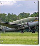 C-46 Commando Tinker Belle Acrylic Print