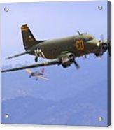 C-47 Gooney Bird At Salinas Acrylic Print