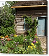 Cabin In The Spring Acrylic Print