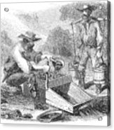 California Gold Rush, 1860 Acrylic Print