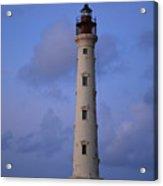 California Lighthouse In Noord Aruba Acrylic Print