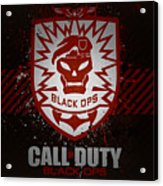 Call Of Duty Black Ops Acrylic Print