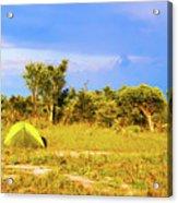 Camp Ground Near Kasane In Botswana Acrylic Print