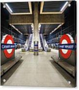 Canary Wharf Acrylic Print