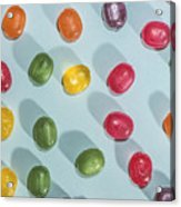 Candy Scattered Acrylic Print