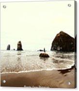 Canon Beach Acrylic Print