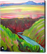 Canyon Dreams 8 Acrylic Print