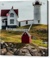 Cape Neddick Lighthouse 4 Acrylic Print