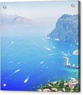 Capri Island, Italy Acrylic Print