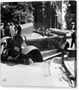 Car Accident, C1919 Acrylic Print