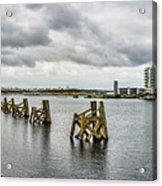 Cardiff Bay Panorama Acrylic Print