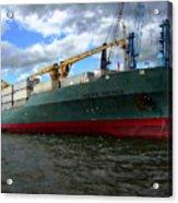 Cargo Ship Acrylic Print
