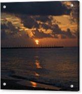 Caribbean Early Sunrise Acrylic Print