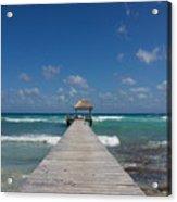Caribbean Landing Acrylic Print