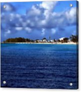 Caribbean Sea And Beach Acrylic Print