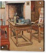 Carl Larsson - Peek-a-boo 1901 Acrylic Print