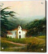 Carmel Monastery Acrylic Print