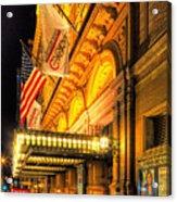 Carnegie Hall Acrylic Print