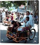 Carnival Cart Acrylic Print