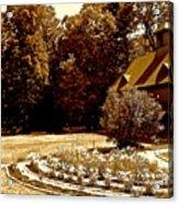 Carriage House Garden Acrylic Print