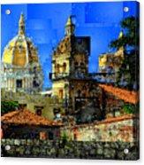 Cartagena Colombia Acrylic Print