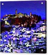 Casares By Night Acrylic Print