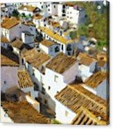 Casares Rooftops Acrylic Print