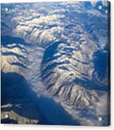 Cascade Mountains Acrylic Print