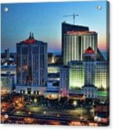 Casinos Atlantic City  Acrylic Print