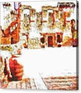 Castle Acrylic Print