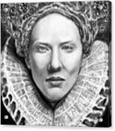 Cate Blanchett As Queen Eliz. I Acrylic Print