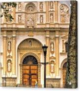 Catedral Antigua Guatemala - Guatemala Vii Acrylic Print