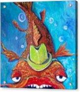 Catfish Clyde Acrylic Print