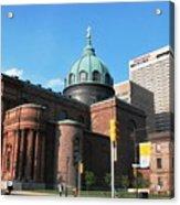 Cathedral Basilica Of Saints Peter And Paul Philadelphia Acrylic Print