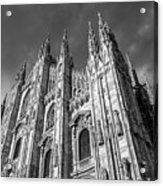 Cathedral Of Milan Acrylic Print