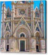 Cathedral Of Orvieto, Duomo Di Orvieto, Umbria, Italy Acrylic Print